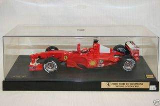 18 Hot Wheels 2000 World Champions Michael Schumacher