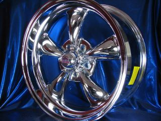 18 Chrome 5 Spoke Rev Classic 100 Wheels Rims for Oldsmobile Cutlass