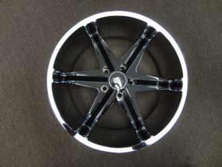 22 Milanni Kool Whip Set of 4 Wheels Rims Blow Out RAM Aspen Dakota
