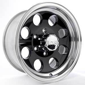 Detroit Wheels 171 6870B Blem 171 Series Black Baja Wheel
