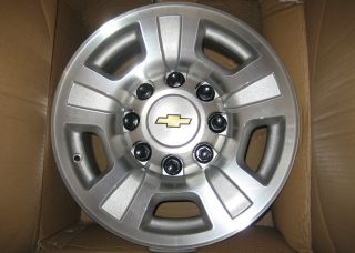 HD 2500 3500 17 Alloy 8 Lug WHEELS RIMS 07 08 10 GMC Silverado Sierra