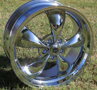 Inch 17x9 CHROME Torq Thrust M Wheels Rims Chevy Camaro 5x120 7 5x4 75