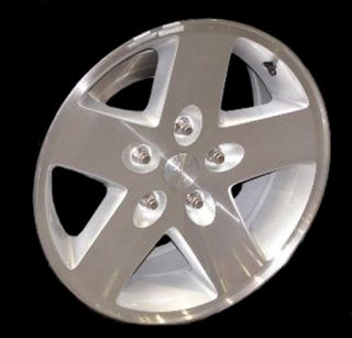 17 2007 2008 2009 Jeep Wrangler Alloy Wheel Machined