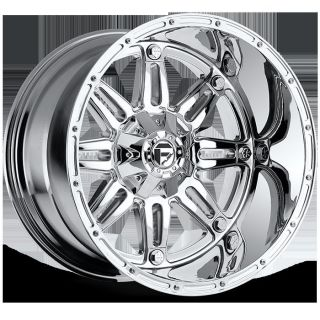 x9 Fuel Hostage Chrome 6x135 w 20 Et D53020909857 Wheels Rims