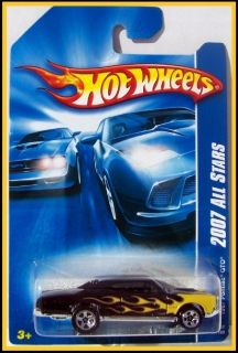 2007 Hot Wheels 137 1967 Pontiac GTO Black