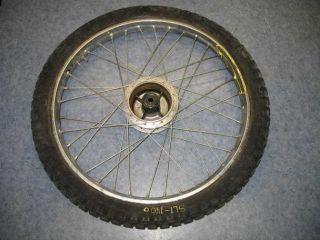 Front Wheel Tire Hub Rim 1972 Honda SL125