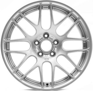 18 Alufelgen CSL Wheels Rims BMW 135 128 Silver