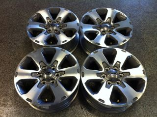 EXPEDITION 18 FX4 05 12 FOUR (4) OEM FACTORY MACHINED WHEEL RIMS 3832