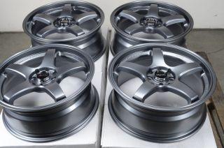 Gun Metal Wheels Integra Sonata galant Cooper Miata 4 Lug Rims