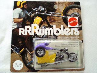 Mattel Hot Wheels Red Line Era Rrrumbler Error Choppin Chariot Misbp