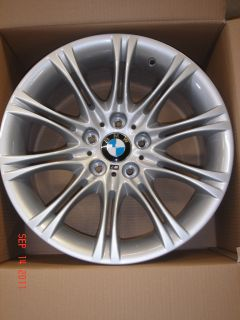 Genuine M Double Spoke 135 18 Wheel Set Rims 525i 530i 545i