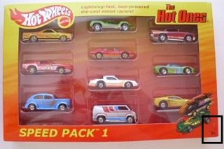 Hot Wheels The Hot Ones ALL 3 Speed Packs ALL Chase Cars Speed Packs 1