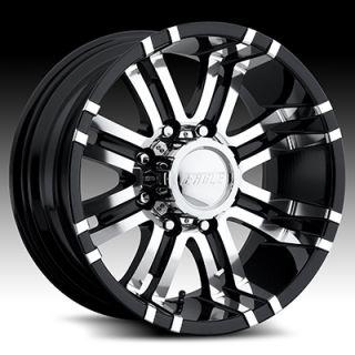 American Eagle style 197 wheels rims, 18x9, 6x135mm superfinish/black