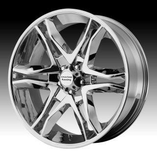 22 inch Mainline Chromes Wheels Rims 6x5 5 6x139 7 FJ Cruiser Hummer