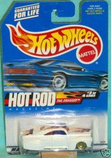 Hot Wheels 2000 7 Tail Dragger Hot Rod Series 3 of 4