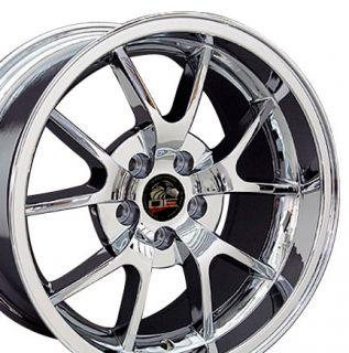 18 Rim Fits Mustang® FR500 Wheel Chrome 18x10