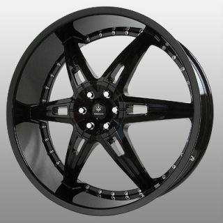 22 inch Verde Allusion Black Wheels Rims 5x5 5 5x139 7 Dodge RAM 1500