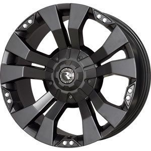 New 20x9 5x127 5x135 Raceline WHL Rampage Black Wheels Rims