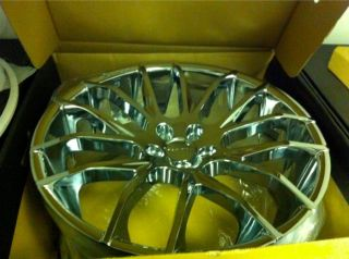 22 Giovanna Kilis Wheels 5x120 22x9 22x10 5 Chrome BMW 700 7 Series