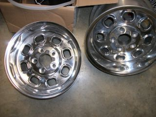 RARE Set Greg Weld ProLite 15x10 Wheels GM Chevy Ford Mopar