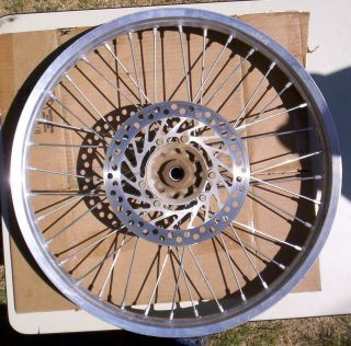 Honda CR125R CR125 Front Wheel RIM WITH BRAKE ROTOR 2004 MAY FIT OTHER