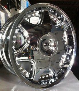 20 Lorenzo L08 Rims Tires Expedition Navigator F 150