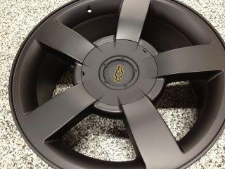 Black Chevrolet Silverado SS Wheels Rims Tahoe LTZ Avalanche 6x5 5