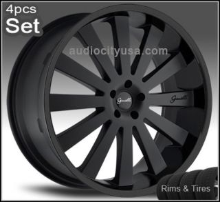 26 Giovanna Satorini Wheels and Tires Rims for for Chevy Ford Tahoe