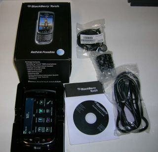 Unlocked RIM BlackBerry Torch 9800 Smartphone WiFi GSM Complete in OEM