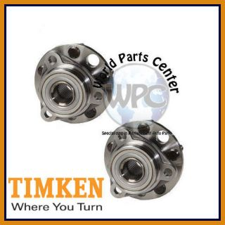 TIMKEN 2 Front Wheel Bearing Hub Assembly Pair Set Two