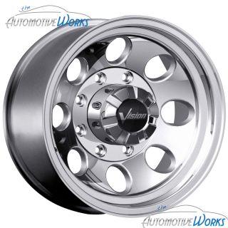 16x8 Vision Scorpion 5x135 0mm Polished Wheels Rims inch 16