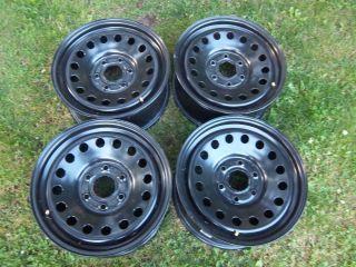 Silverado 1500 Tahoe Factory OEM Steel Wheel Rim 8072 GMC Sierra Yukon