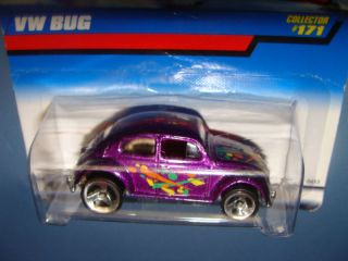 1997 Hot Wheels 171 VW Bug Volkswagen Beetle Free Shipping