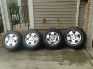 Toyota Tundra TRD 18 Wheels and Tires