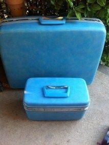 Samsonite Silhouette Suitcase Luggage Train Case Key Wheels