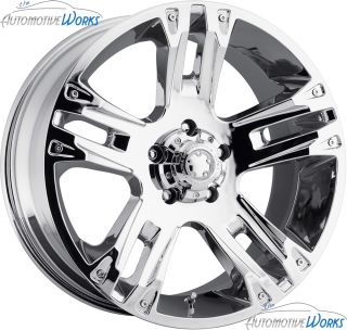 Ultra 234 235 Maverick 8x170 20mm Chrome Wheels Rims inch 17