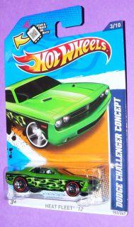 2012 Hot Wheels Dodge Challenger Concept 153  Red Line