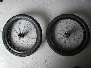 BMX Wheel Set Profile Mini Hub w Odyssey Rims