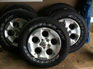 2013 OE Jeep Wrangler Sahara Wheels and Tires Brand New 0 Miles