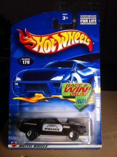 2002 Hot Wheels 179 Mustang Mach I Police Car
