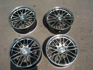 BNIB 19x8 5 ASA GT1 Wheels Bight Silver Nissan Infiniti Maxima Altima