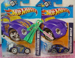 Treasure Hunt SUPER Secret Reg lot VOLKSWAGEN BEETLE 151 BLUE VW BUG