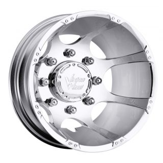 16 inch Crazy Eightz Chrome Dually Rims 8x6 5 8x165 1