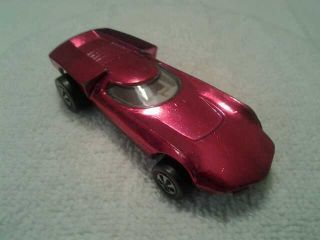 Vintage Hot Wheels Original 1969 Turbofire «Pink Rose» Redline Exec