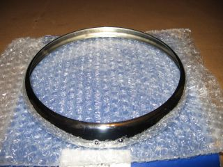 Headlamp Headlight Light Trim Ring Rim Triumph TR6 TR4 TR250