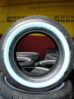 185 70 14 Hankook Shaved White Wall Tires 1857014