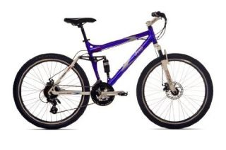 Mens Dual Suspension Mountain Bike 26 inch Wheels 19 inch Frame