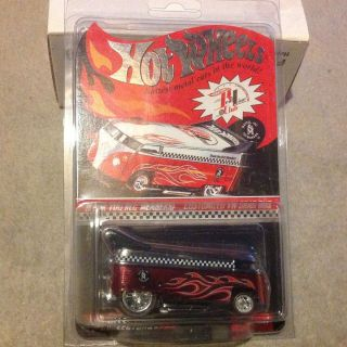 Hot Wheels RLC Thank You VW Drag Bus