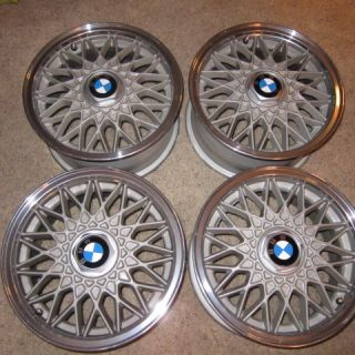 BMW 2002 1600 E30 BBs RZ Alloy Wheels