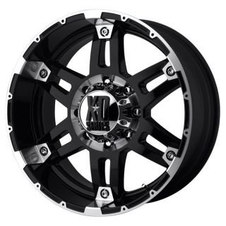 XD797 SPY XD79778080318 17X8 18MM OFFSET 8X6 5 G BLACK MACH SINGLE RIM